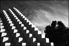Four Sided Pyramid, Sol LeWitt, Washington, DC