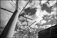 Easy Landing, Kenneth Snelson, Baltimore, MD
