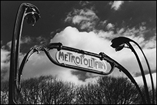 An Entrance to the Paris Metropolitain, Hector Guimard, Washington, DC