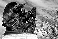 Union Soldiers and Sailors Monument, Adolphe A. Weiman, Baltimore, MD